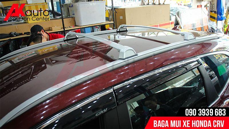 lắp baga mui xe ô tô crv