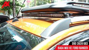 lắp baga mui xe ford ranger hcm