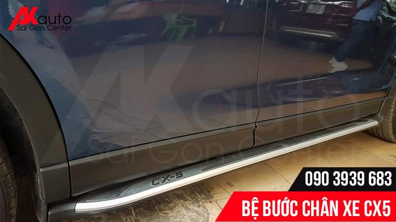 Bệ bước chân Mazda CX5 được bảo hành 12 tháng