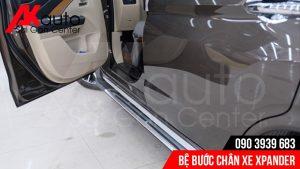 lắp bệ bước chân xe Xpander chất lượng