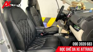 xưởng bọc ghế da ô tô attrage hcm