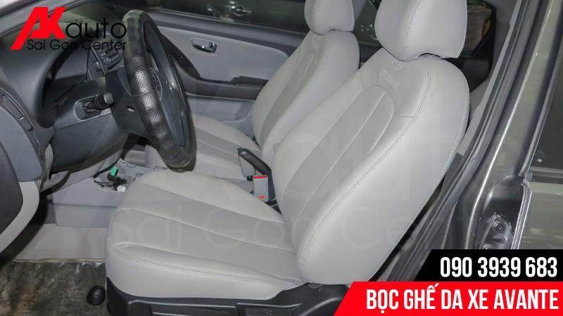 tư vấn bọc ghế da xe hơi avante