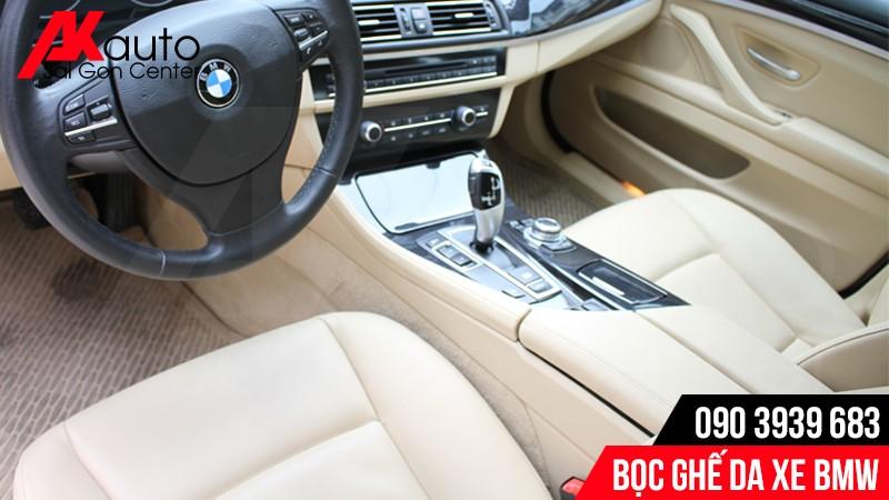 Chất liệu bọc da ghế xe BMW