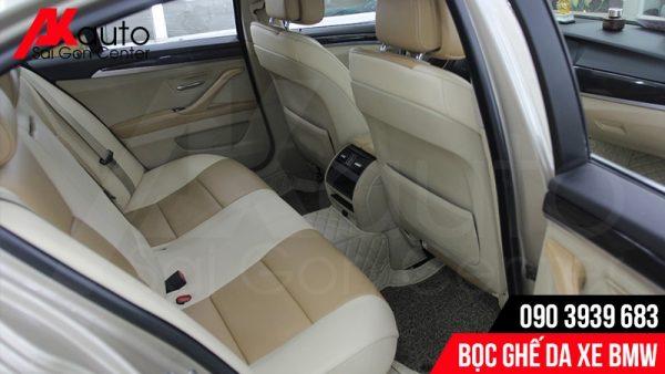 bọc ghế da ô tô bmw tại akauto