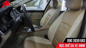 bọc ghế da nâng cấp xe bmw