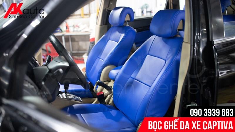 cách vệ sinh ghế da ô tô captiva