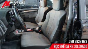 bọc ghế da cho xe colorado
