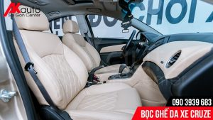 nâng cấp bọc ghế da ô tô cruze
