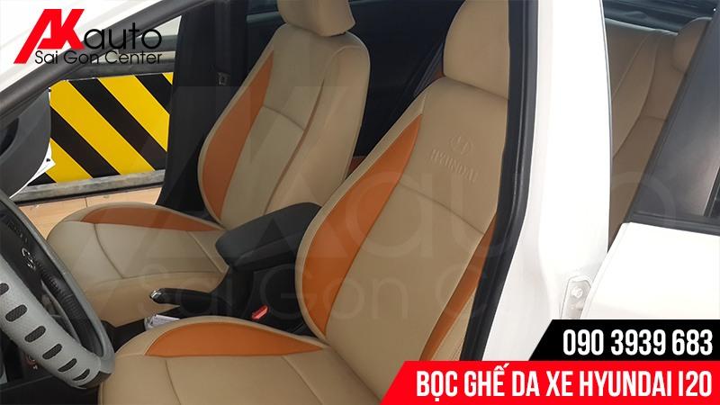 nâng cấp bọc ghế da ô tô i20 uy tín