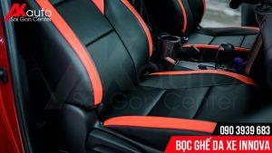 mẫu bọc da ghế innova