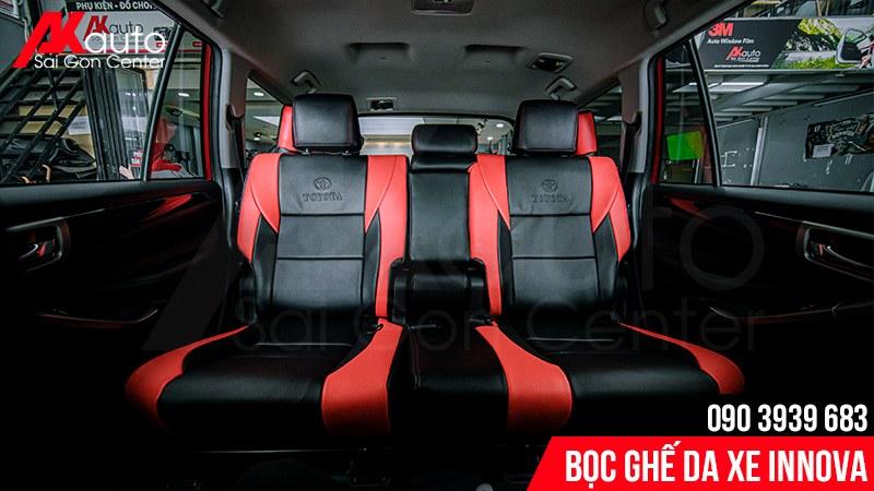 bọc ghế da ô tô innova hcm