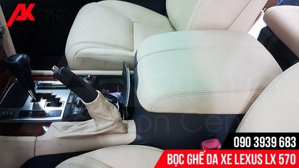 bọc da nội thất xe lexus lx 570 hcm
