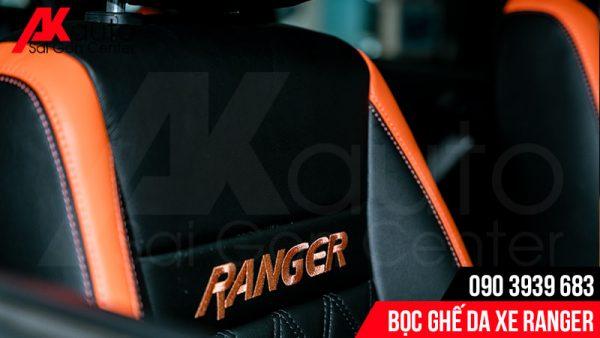 thay áo ghế da ford ranger