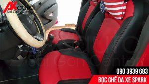 akauto bọc ghế da cho xe spark hcm