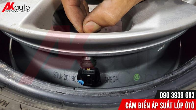 cảm biến áp suất lốp van trong