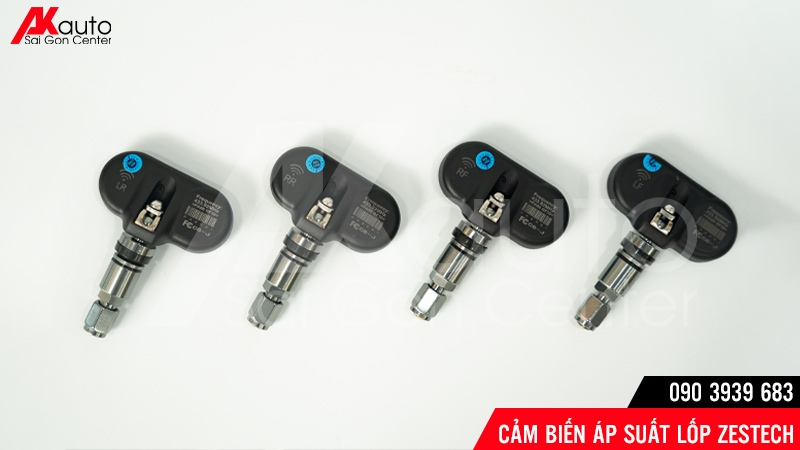 Bộ Cảm biến áp suất lốp Ô Tô hiệu Zestech