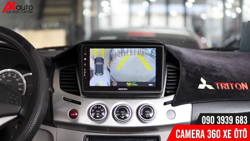camera 360 owin hiển thị màn hình ô tô