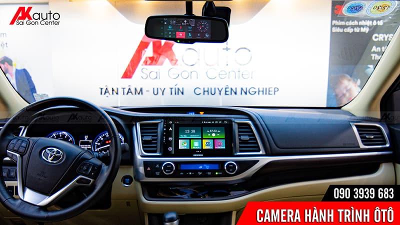 lắp camera hành trình ô tô chính hãng hcm