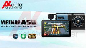 lắp camera hành trình ô tô vietmap a50 hcm