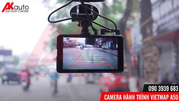 camera vietmap a50 hỗ trợ camera lùi