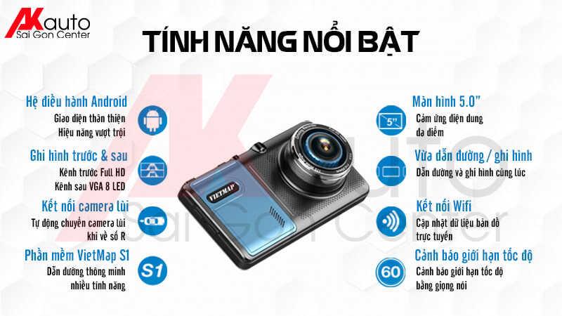 camera vietmap a50 đa dạng tính năng nổi bật