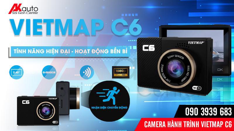 lắp camera hành trình ô tô c6 chính hãng hcm