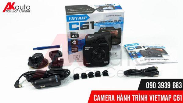 bộ sản phẩm camera vietmap c61