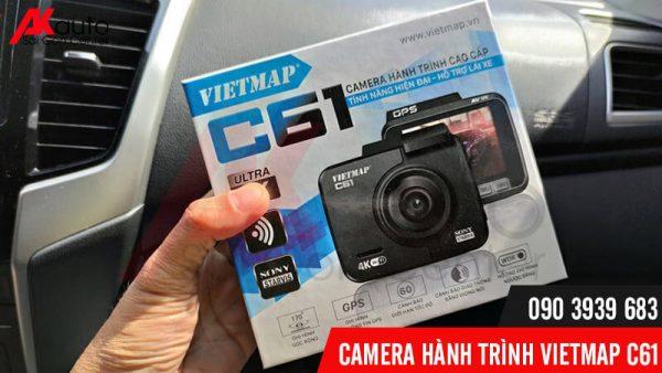 camera hành trình ô tô vietmap c61 ghi hình trước