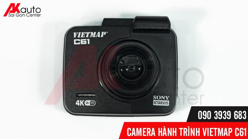 mắt camera vietmap c61 ghi hình góc rộng