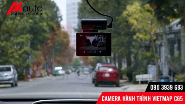 góc quay camera vietmap c65 rộng