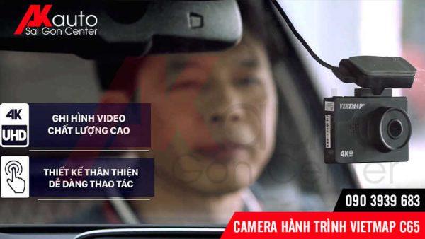 chất lượng hình ảnh camera vietmap c65 sắc nét