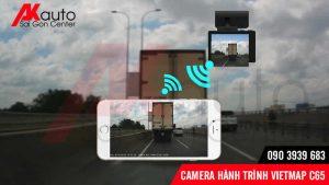vietmap c65 hiển thị hình ảnh lên điện thoại cấp quyền