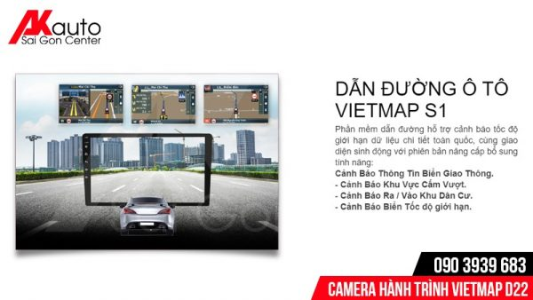 VietMap D22 chỉ dẫn đường S1