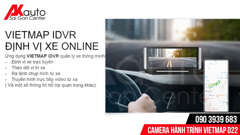 camera hành trình định vị xe online