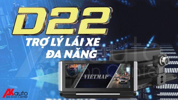 camera hành trình ô tô VietMap D22 chính hãng