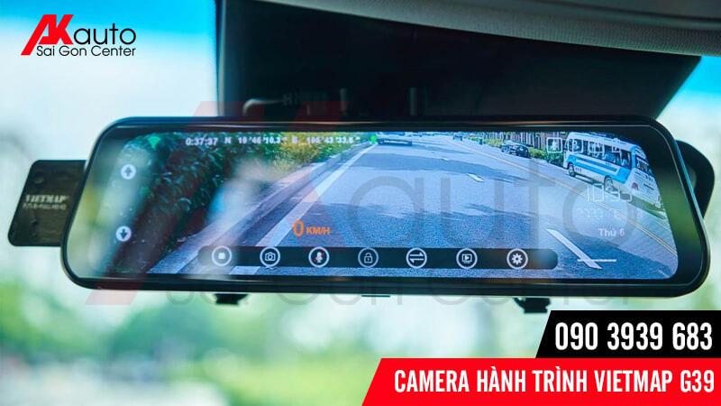 camera hành trình ô tô g39 hỗ trợ lùi