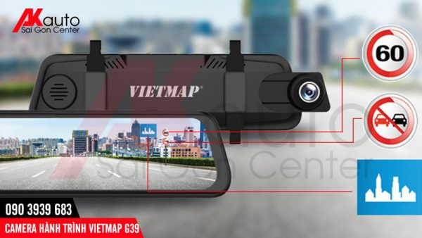 camera ô tô vietmap g39 cảnh báo bằng giọng nói