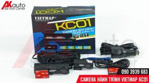 bộ sản phẩm camera vietmap kc01