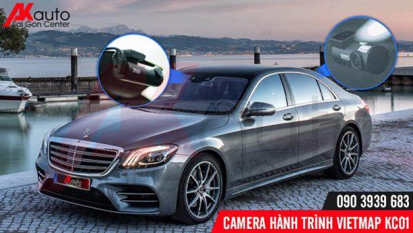 camera hành trình ô tô kc01 ghi hình trước sau