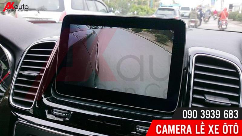hình ảnh camera lề hỗ trợ lái xe