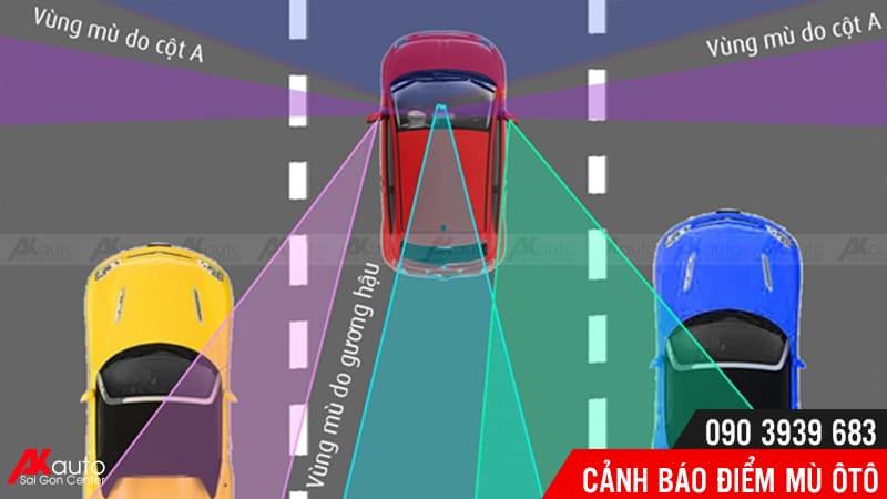 điểm mù ô tô tiềm ẩn nguy cơ tai nạn cao