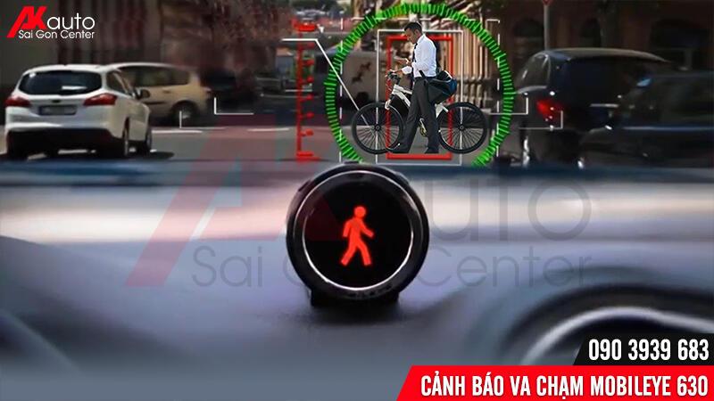 cảnh báo va chạm người đi xe đạp