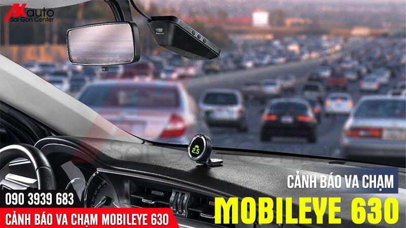 cảnh báo đâm va mobileye ô tô