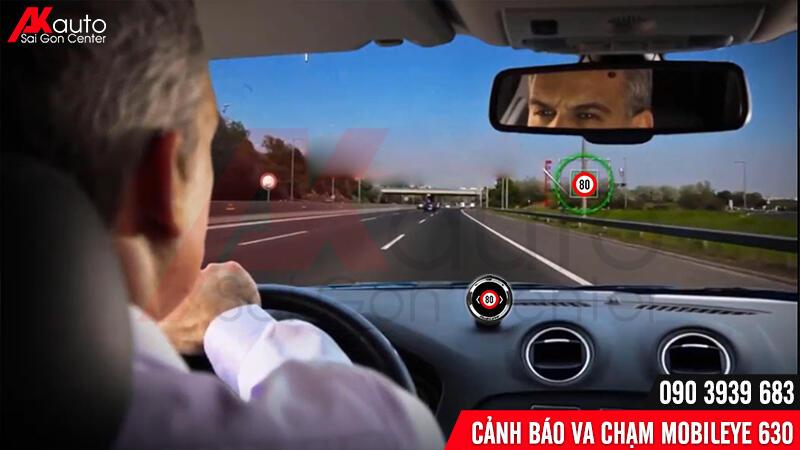 mobileye đọc biển báo giao thông