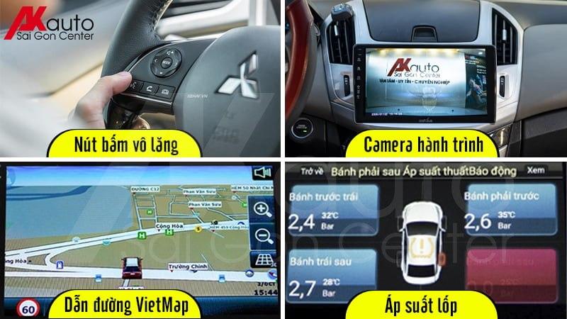 màn hình android ô tô hỗ trợ an toàn