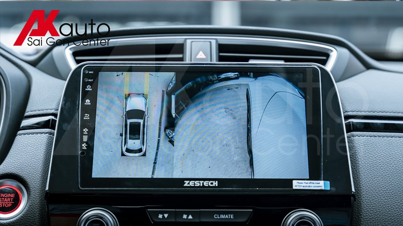 màn hình zestech liền camera 360