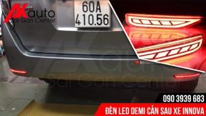 lắp đèn led demi sau innova tốt nhất hcm