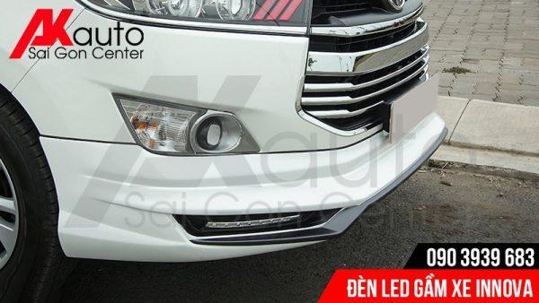 chuyên độ đèn led gầm xe innova