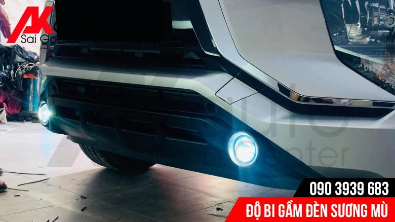 đèn bi gầm xe xpander mt chiếu sáng an toàn