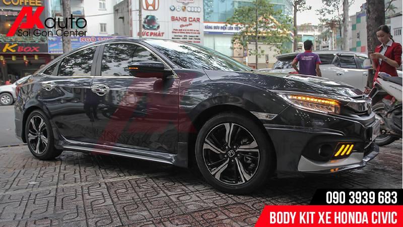 độ body kit xe ô tô civic chuyên nghiệp hcm